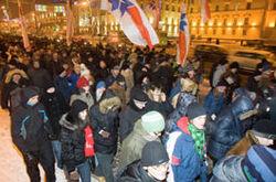 митинг оппозиционеров в Минске