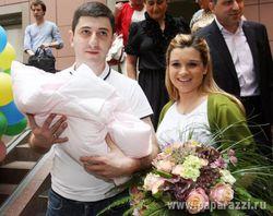 Бородина: с именем дочери определилась за две недели до родов