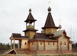 Деревянная церковь уничтожена пожаром в Житомирской области