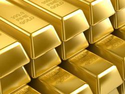 Рынок золота: объемы торгов падают