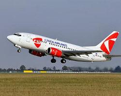 Czech Airlines теперь летает из Праги в Уфу
