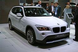 Рестайлинговый BMW X1 готовится к дебюту