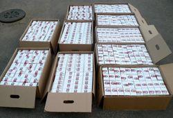 В Закарпатье задержаны несколько партий контрабандных сигарет