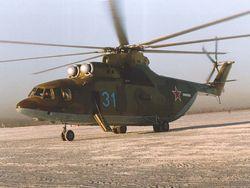 Аварийная посадка транспортного вертолета в Ханты-Мансийском автономном округе