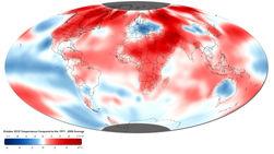 2010 год признан самым теплым годом за всю историю