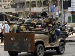 Войска Каддафи атаковали Мисурату