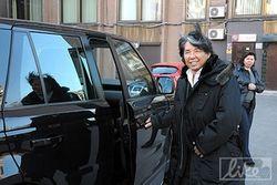 В столице Украины побывал Кензо Такада