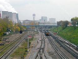 Московскую кольцевую железную дорогу будут расширять