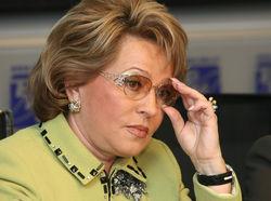 Матвиенко – единственный кандидат в спикеры Совета Федерации