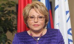 Впервые в истории России женщина - спикер Совета Федерации