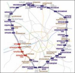 На Малом кольце в Москве появится 30 новых остановочных пунктов