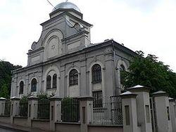 Хоральная синагога Каунаса. 1871 – 1872. Построена при царе Александре Втором.