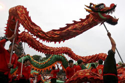 В Китае отмечают год Дракона