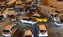 Кто виноват в столкновении пяти автомобилей в Москве?
