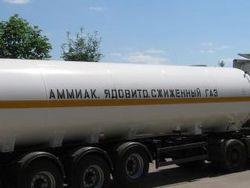 Цистерна с аммиаком перевернулась на Полтавщине