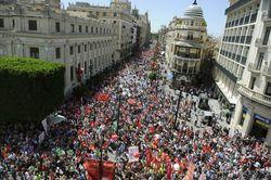 Испанцы «вывесили» график забастовок для туристов