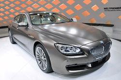 Стали известны цены на BMW 6 series Gran Coupe