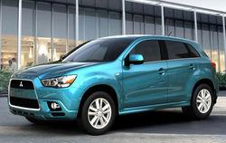 Mitsubishi ASX стал самым безопасным автомобилем года