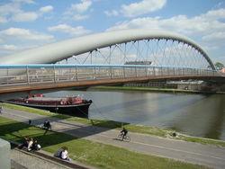 Европа завершила строительство набережной, которая соединила Германию и Польшу