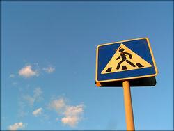 В Минске водитель сбил пешехода и уехал