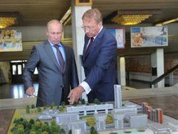 Путину продемонстрировали проект будущего города