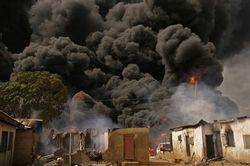 В Колумбии на нефтепроводе произошел взрыв