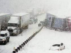 На Украине погодные условия не стали причиной роста ДТП