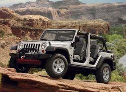 Jeep продемонстрирует свои концепт-кары в пустыне