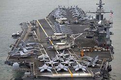 "Авианосец ВМС США ""Джордж Вашингтон"""