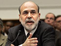 За два года рейтинг Бернанке опустился до минимума
