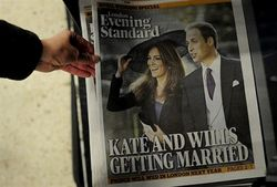 Свадьба принца Уильяма - дополнительные 830 млн долларов для британской экономики?