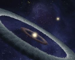 Обнаружено рождение новой планеты возле молодой звезды