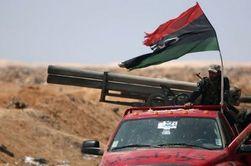 Город Мисрата в Ливии под тяжелой бомбардировкой