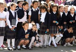 казахстанские школьники