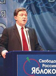 Митрохин не верит в регистрацию Явлинского кандидатом в президенты
