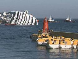 В деле крушения лайнера «Коста Конкордия» появились новые факты