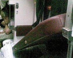 На пассажирку поезда обрушилась верхняя полка