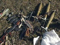 Чей тайник с боеприпасами был обнаружен в Чечне?