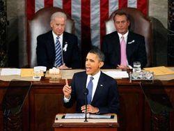 О чем во вторник говорил Обама Конгрессу США?