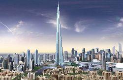 башня Бурдж Дубаи