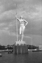 В Третьяковской галерее появилась бронзовая «Девушка с веслом»