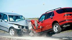 столкновение автомобилей
