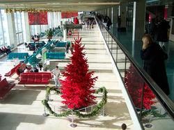 Рождество в аэропорту