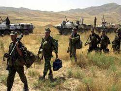 Что отрабатывается на совместных военных учениях в Таджикистане?