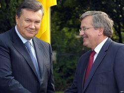 Президент Украины встретится с президентом Польши