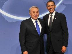 Нурсултан Назарбаев и Барак Обама