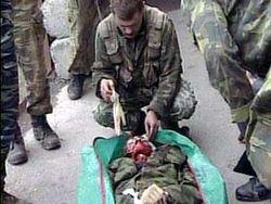 Как погибли военнослужащие в Грозном?