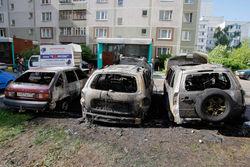 Пойман преступник, поджигавший автомобили москвичей