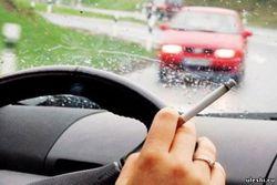 курение за рулем автотранспортных средств