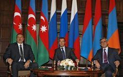 встреча Президентов Армении, Азербайджана и России